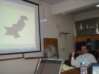 GIS Training at AEPAM by World Food Program