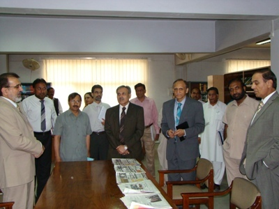 State Minister & Secretary Education,Trainings and Standards in Higher Education visit at AEPAM